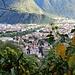Blick hinab nach Bolzano