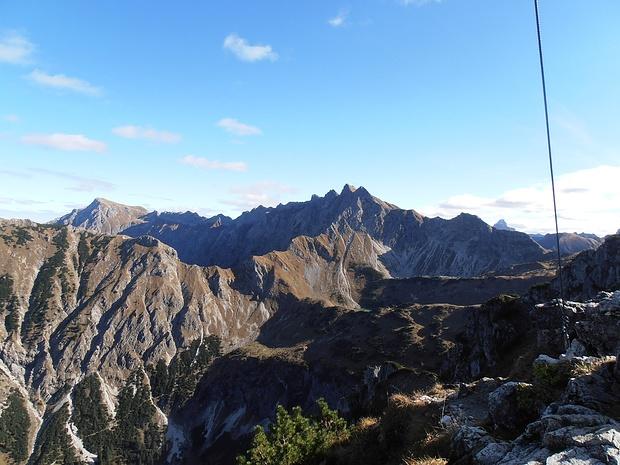 Hindelanger Klettersteig Wengenkopf : Östlicher wengenkopf 2207m u2013 tourenberichte und fotos [hikr.org]
