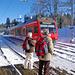 Am Bahnhof von La Ferrière