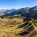 Gipfelpanorama Sisiger Spitz NE bis S