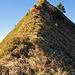 Ein letztes Steilstück beim Abstieg vom Sisiger Spitz in Richtung Driangel