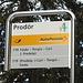<b>All'arrivo a Prodör (1647 m) mi rendo subito conto che le condizioni d'innevamento sono molto diverse da quelle che mi aspettavo. Lascio gli sci in auto e carico le racchette da neve sullo zaino: le porterò a spasso per tutta la giornata…</b>