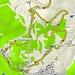 <b>Tracciato GPS Lago di Carì (parte bassa).</b>
