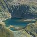 Namenloser See (2486m) unter dem Piz Malgina