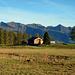 Die Rona-Alpe vor dem Walserkamm