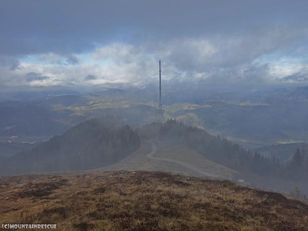 November in den Bergen