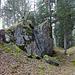 Märchenhafter Fels in den Mailöchern