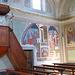 Rossura - Chiesa Parrocchiale, interno.