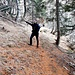Il bivio Q1615 :  diritto per Alpe Pertignaga (e proseguendo si scende alla Capanna Gariss)  a sinistrasi sale alla bocchetta vicino alla Cima d'Aspra (anzi per l'esattezza tra la Cima d'Aspra e l'anticima della Cimetta)