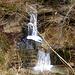 ein Doppelwasserfall