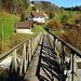 auf dieser Brücke überquere ich die Töss