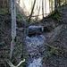 auch abseits des Weges flißt Wasser runter