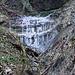 gefrorene Wasserfälle