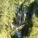 Wasserfall am Eingang des Oberautals