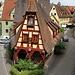Auf der Stadtmauer in Rothenburg