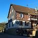 Gasthaus Kreiswald, innen wie aussen mit weihnachtlichem Schmuck