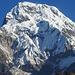Aussicht von Tadapani auf die Annapurna South.