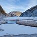 Die Kälte lässt die Landschaft noch einsamer wirken