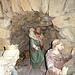 In der Grotte des Maria Bildstein ist man das ganze Jahr über auf Weihnachten vorbereitet