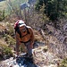 Im Aufstieg zu Refuge les Choucas