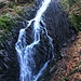 Bobří soutěska, Wasserfall
