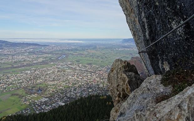 Via Kapf Klettersteig : Via kapf 1088m u2013 tourenberichte und fotos [hikr.org]