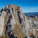 Gipfel Wandflue von SW