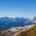 Aussicht zu den Urner Alpen von der Steilstufe bei Fruttstägen