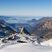 Blick über's Schmal Stöckli zu den Zentralschweizer Voralpen