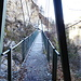 die zweite Hängebrücke