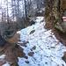 parte iniziale del sentiero da Alla Baita fino a Stabbiascio