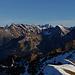 Und da steht sie aufgereiht ... (fast) die ganze Prominenz der Allgäuer Alpen