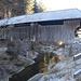 alte Holzbrücke bei Oberach