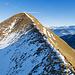 """""""Schlüsselstelle"""" des Aufstiegs zum Risetenstock. Im Winter kann diese Stelle bei Überwechtung problematisch sein."""
