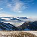Immer wieder schöne Ausblicke zu den Zentralschweizer Bergen