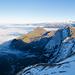 Immer noch mysthisch anmutende Nebelfetzen über dem Gorneren Tal