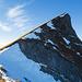 Rückblick zum Gipfel beim Abstieg von der Schwalmis in Richtung SE