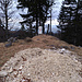 Nach diesem Grenzstein legt der Steig zum Rabeneck erst richtig los.