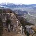 Blick auf die Felswand des Kranzhorns.