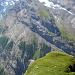 Blick zur Balmhornhütte und dem Aufstieg zum Gasteräspitz