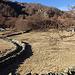 Steinmauer am Passo della Garina