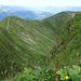 Blick vom Fellhorn über nahezu den gesamten Kamm.