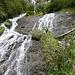 16.September 09, einer der vielen Wasserfällen zur Hirzbachalm