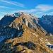 Nun bin ich auf dem Gipfel Schofwisspitz angekommen, herrliche Aussicht zum Alpstein