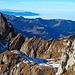 Grat zum Lütispitz vom Schafwisspitz aus fotografiert