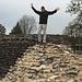 Klettern auf römischen Mauern