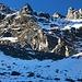 Die Schwarzseehörner Nordwand zum Hörnli von der Gaffia aus