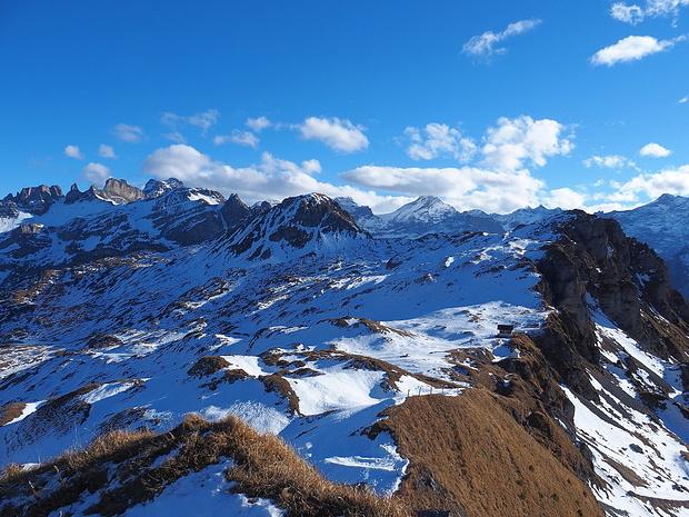 Klettersteig Fruttstägä : Klettersteig zingelstöckli bergsteigen
