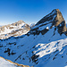 Panorama Chaiserstock und Fulen beim Aufstieg zum Rossstock