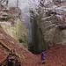 Der Eingang zum Steinbruch.